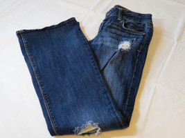 American Eagle Stretch Artist 8 regular Juniors women Denim jeans GUC pr... - $34.84