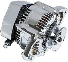 A-Team Performance Nippondenso Style Alternator Style 90 Amp for Hot Rod and Min