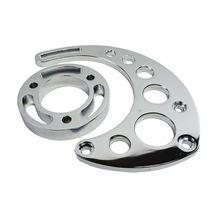 Chevy BBC Aluminum Alternator Bracket Kit Long Water Pump 396 402 427 454 502 image 9