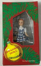 Effanbee Doll 1999 Dorothy and Toto Christmas Ornament #F063 Wizard of OZ - $11.11