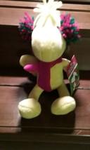 "Peanuts Woodstock Christmas Musical Plays Jingle Bells Stuffed Plush 8""  - $14.99"