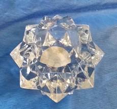 Vintage INDIANA GLASS CANDLE-LITE VOTIVE Candle Holder Clear Wedding Decor - $15.00