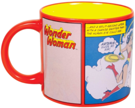 WONDER WOMAN Mug Heat Activated Transforming Coffee Mug UFO Rescue Diana Prince  image 3