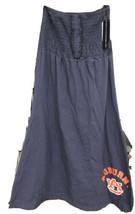 AU Auburn University Tube Dress Blue/Orange Medium M by Klutch Apparel - $22.58