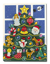 Melissa and Doug Christmas Tree Chunky Puzzle - 13 Pieces  - $19.00