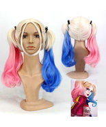 Suicide Squad Harley Quinn Wig Cosplay DC Comics Cosplay Hair - $24.63