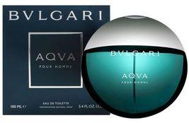 Bvlgari Aqva Pour Homme 3.4 Oz 100ml EDT Spray  For Men's New With Seale... - $65.00