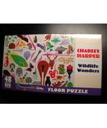 Pomegranate Kids Jigsaw Puzzle 2016 Charley Harper Wildlife Wonders Floo... - $14.99