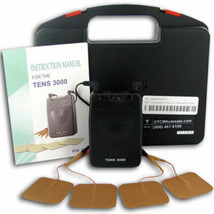 NEW TENS 3000 Analog UNIT with ELECTRODES PADS,COMPLETE ---OTC---FREE SH... - $27.50