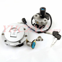 Ignition Switch Fuel Gas Cap Cover Seat Lock Key Set for Honda CBR600 F2F3 91-98 - $35.53