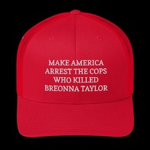 Make America Arrest The Cops Hat / Make America Arrest The Cops / Trucker Cap image 13