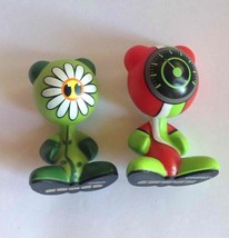 2 UB Funkeys Sprout & Drift Series 1/Dream State Green Flower Red Wave Figures - $7.91