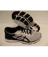 Asics men's gel kayano 24 (2E) wide running shoes silver black mid grey ... - $118.75