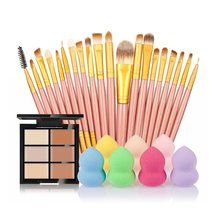 SMTSMT 2017 Super Soft 6-Color Concealer +20 Makeup Brush + Water Puff P... - €25,97 EUR