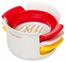 Hard Boiled Egg Slicer Stainless Wired 3in1 Cutter Easy Manual Dishwashe... - €14,14 EUR