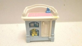 Fisher Price Loving Family Dollhouse Nursery Changing Table EUC Ship Fast - $7.99