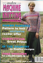 Modern Machine Knitting Nov 1995 Magazine More Jo Newton Designs and more - $7.12
