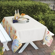 """Better Homes and Gardens Sea Life Fabric Tablecloth 52"""" x 70"""" - €25,44 EUR"""