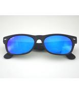 Ray Ban RB2132 New Wayfarer Flash 622/17 Black/ Blue Flash Lens Sunglasses 52mm - $74.25