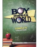 Boy Meets World Complete Series (22 Disc Box Set DVD) Brand New - $41.95