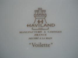 Haviland Voilette grey 5 piece place setting - $49.45