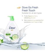 NEW Dove Go Fresh Shower Gel Fresh Touch 1000ml EXPRESS SHIPPING DHL - $27.90