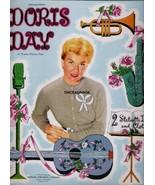 VINTAGE UNCUT 1956 DORIS DAY PAPER DOLLS~#1 REPRODUCTION~FABULOUS SET/NO... - $17.50