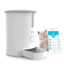 Automatic Pet Feeder for Cats & Puppies Smart Food Dispenser Up to 6 Mea... - $119.55