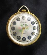 Vintage Eastman Swiss Mechanical Wind Up Necklace Pendant Watch - $10.69