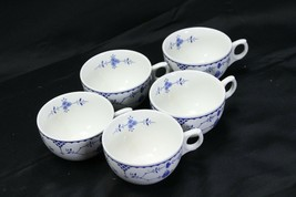Franciscan Denmark Blue Cups Lot of 5 - $48.99