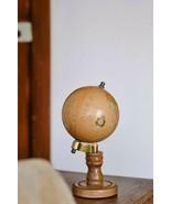 Wooden Vintage Educational Desktop Set of 2 pcs Rotating Home Decor Roun... - $136.41