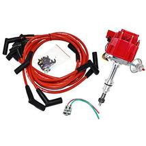 A-Team Performance HEI Distributor 65K Coil Complete w/SBF 8mm Red Silicone Spar