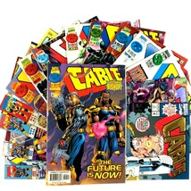 Cable 15 Comic Lot VF NM Marvel Black Panther Micronauts Domino Bishop X-Force - $34.60