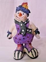 Snowman Clown Figurine by World Bazaars Inc. - $10.35