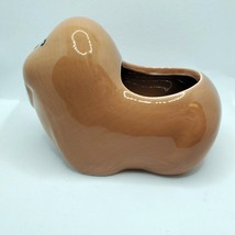 Walrus Animal Planter Grow Kit, ceramic pot with soil and mint herb seeds image 4