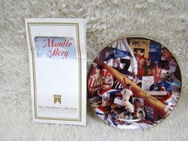 """Hamilton Collection """"The Mantle Story"""" From All-Star Memories Collection... - $14.99"""