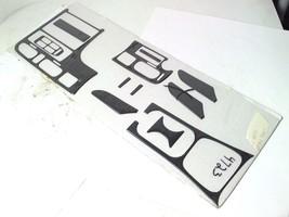 12-pc Dash Console Door Trim Kit Carbon Fiber Interior Accent For 1995 Mazda 626 - $93.49