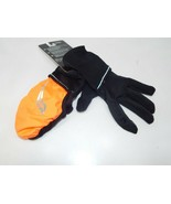Saucony Ulti-Mitt Size L Large Convertible Pocket Thermal Running Gloves... - $14.69