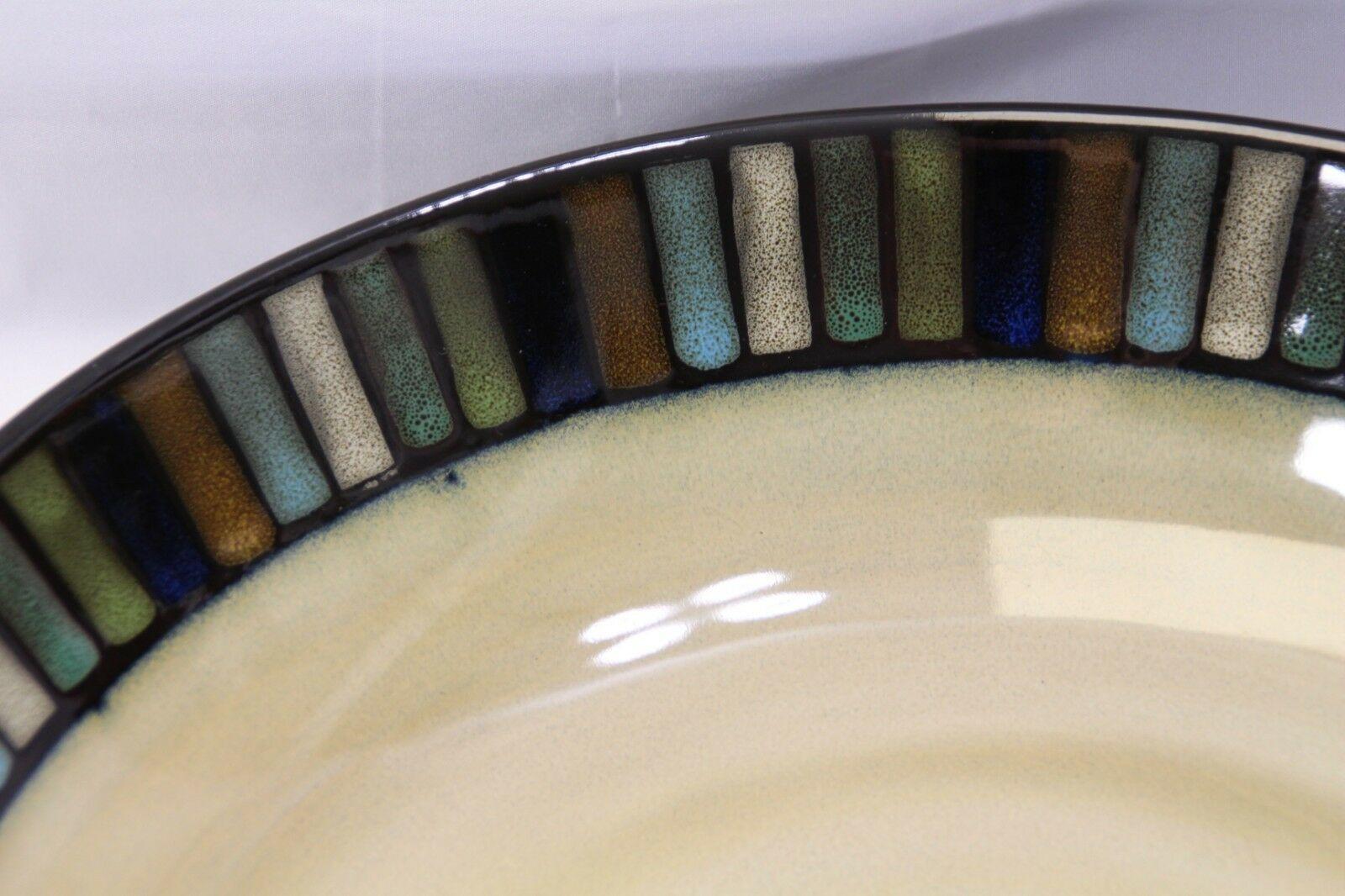 "Sonoma Vallejo Blue Pasta Serving Bowl 14"" image 3"