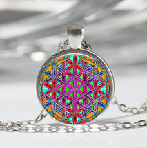 Spiritual Patterns Cabochon Necklace >> Combined Shipping << (11 - $2.75