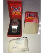 "Vintage 1981 Unisonic ""The Dukes of Hazzard"" LCD Quartz Watch n Box Sold... - $37.39"