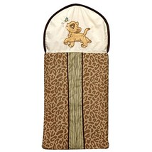 Disney Lion King Simba's Wild Adventure Appliqued Diaper Stacker, Ivory,... - $18.79