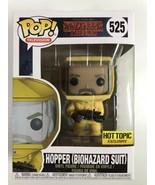 Funko Pop Stranger Things #525 Hot Topic Exclusive Hopper (Biohazard Sui... - $19.80
