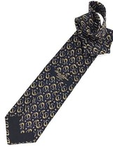 New Brooks Brothers Makers Silk Tie Blue Gold Designer - $24.95