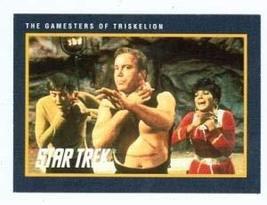 Star Trek card #167 Gamesters of Triskelion Captain Kirk Checkov Ahura - $3.00