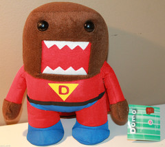 "9.5"" Super Domo Kun Plush Character with Tag 2011 DomoNation NHK-TYO Japan - $28.78"