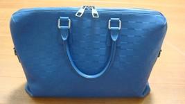 Auth Louis Vuitton Damier Infini briefcase Zeph - $1,416.88