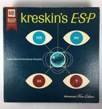 Autographed Kreskin's ESP Board Game Advanced Fine Edition Milton Bradle... - $61.73