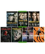 Homeland The Complete Series Seasons 1 2 3 4 5 6 & 7 DVD Collection Set ... - $74.00