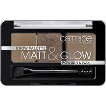 TOP NEW CATRICE Eyebrow palette Matt & Glow 010 Now Flash Lights 3 in 1 - $7.73